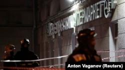 По експлозијата во супермаркет во Санкт Петербург, 27.12.2017.
