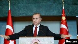 Түркия президенти Режеп Тайып Эрдоган.