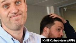 Олексій Навальний і Леонід Волков