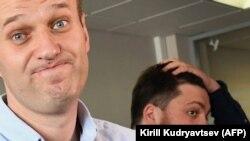 Алексей Навальный и Леонид Волков.