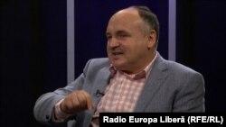 Anatolie Golea la o dezbatere în studioul Europei Libere la Chișinău
