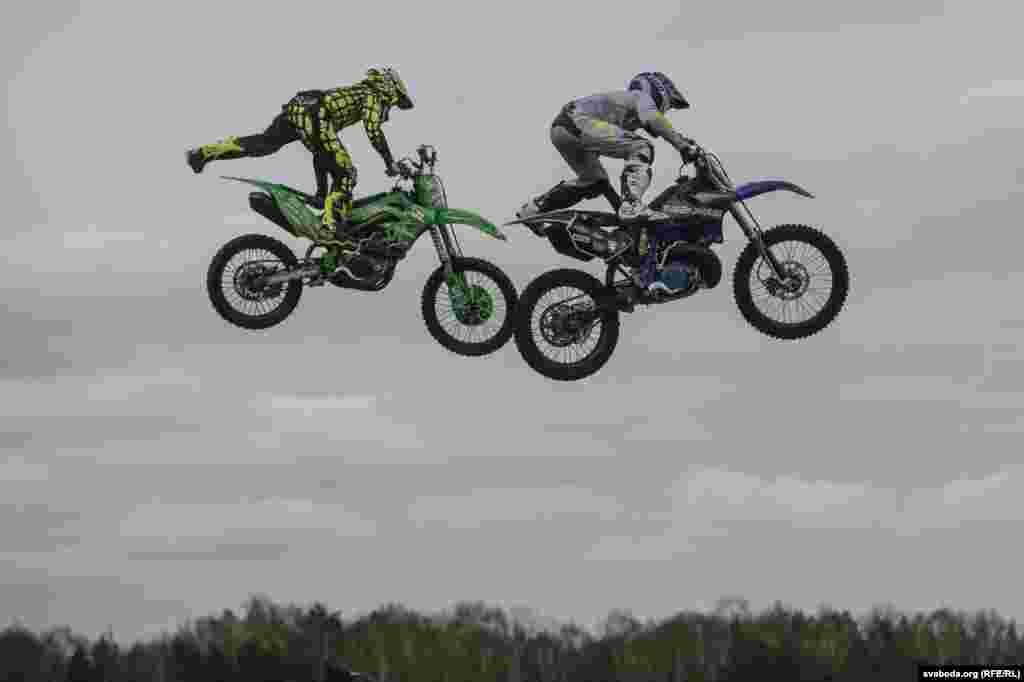 Belarus -- the season H.O.G. Spring Challenge and FMX show in Minsk