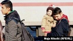 Migranti u Slavonskom Brodu, arhiv