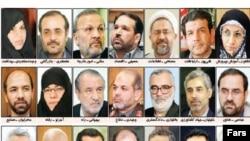 تنها هفت وزیر کابینه نهم در بین وزاری پیشنهادی برای کابینه دهم حضور دارند