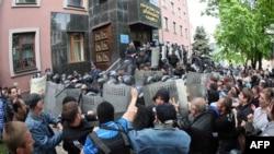 Штурм обласної прокуратури у Донецьку, 1 травня 2014 року