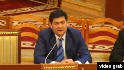 Омбудсмен Кыргызстана Кубат Оторбаев.