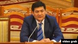 Акыйкатчы Кубат Оторбаев.