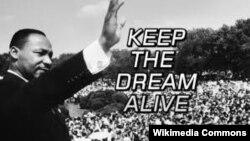 """Martin Luther King ishte njëri nga liderët e marshit në Uashington (1963) kur e mbajti fjalimin historik """"Unë Kam një Ëndërr"""""""