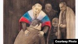 Виктор Голуб (Украина). Шаржированные президенты