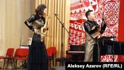 Концерт в Алматы, посвященный 170-летию Абая