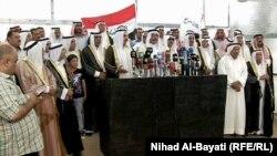 رجال عشائر في كركوك يشجبون إعتقال خالد المفرجي