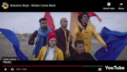 Breunion boys - qrupunun videoklipindən kadr