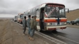 More than 400,000 undocumented Afghan migrants left Iran for Afghanistan so far in 2018, many of them in buses from Herat, near the Iranian border, to Kabul. (illustrative photo)