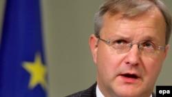 اولی رهن کمیسر توسعه اتحادیه اروپا: باید مساله قبرس را در سازمان ملل متحد حل کرد