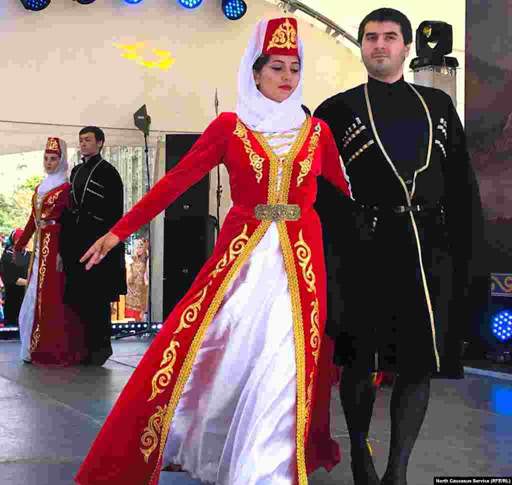Осетинский танец
