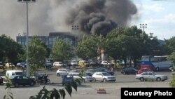 Miercuri la aeroportul din Burgas
