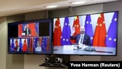 Виртуелен самит ЕУ-Кина, 22 јуни 2020 година.