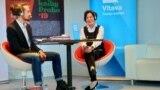 Scriitoarea Herta Müller la Festivalul de carte de la Praga