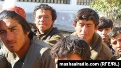 د کوټې په لوی زندان کې افغان بندیان