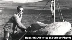 Олег Куваев. Чукотка. Сплав по Амгуэме. Начало 1960-х
