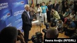 Boris Tadić na konferenciji za novinare, 6. maj 2012.