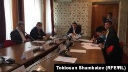 Саймаитинин ишиндеги маалыматтарды иликтөөчү депутаттык комиссия. 2-июнь, 2020-жыл.