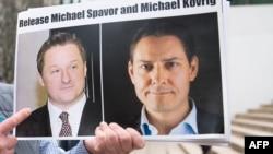 Michael Spavor i Michael Kovirg