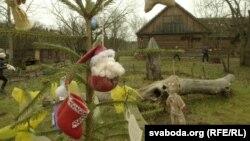 Навагоднія цацкі зробленыя намайстар-клясах «Сьнежаньскага фэсту»