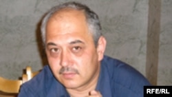 Akbar Sattorov, the head of Tajikistan's Association of Journalists