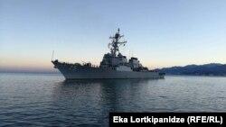 """ამერიკული სამხედრო გემი """"დონალდ კუკი"""""""
