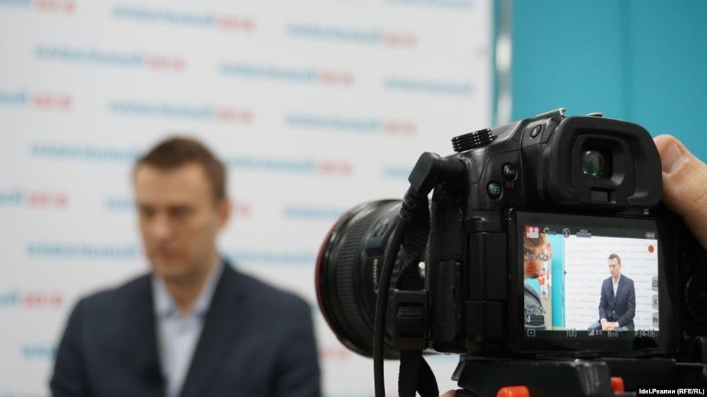 Алексей Навальный в Казани, 5 марта 2017 года