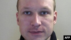 Norway -- A police photo shows Anders Behring Breivik, 2009