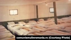 Spațiu de cazare pentru brigadieri, IAS Maglavit. Sursa:comunismulinromania.ro
