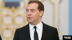 Ресей премьер-миинстрі Дмитрий Медведев.