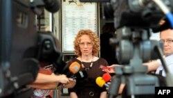 Пратеничката Радмила Шеќеринска од СДСМ.