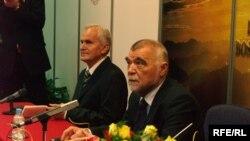 Stjepan Mesić na predavanju u Tuzli, Foto: Maja Nikolić