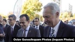 Premierul Ludovic Orban și Hans Klemm, amdasadorul SUA la București