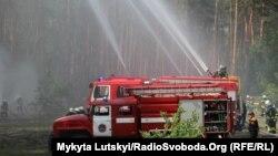 Тренування пожежників Донецької області, ілюстративне фото
