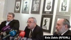 Čelnici Židovske općine Zagreb predstavljaju svoje zahtjeve, Zagreb, 21. veljače 2012.
