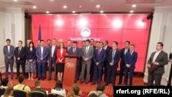 Прес-конференција на премиерот Зоран Заев и Владата за договорот со Грција за новото име