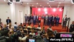 Прес-конференција на премиерот Зоран Заев и Владата за договорот со Грција