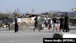 Romi u Belvilu, Novi Beograd