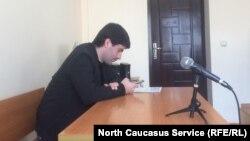 Юрист Марат Исмаилов в суде