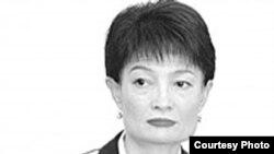 Uzbekistan - Svetlana Ortiqova, spokeswoman of the General Prosecutor's Office, undated