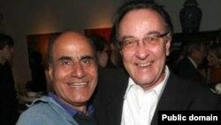امیر نادری (چپ) فیلمساز ایرانی مقیم آمریکا با فیلم «وگاس، بر اساس داستانی واقعی» در بخش مسابقه جشنواره ونیز حضور دارد.
