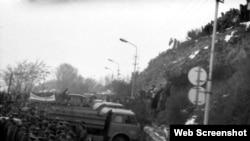 23 ноября 1989 года - противостояние на подходах к Цхинвали