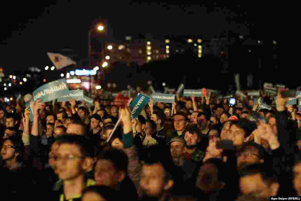 Сторонники Навального