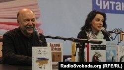 Андрій Курков на Белградському ярмарку