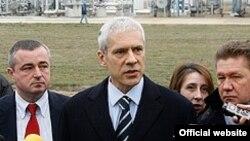 Српскиот претседател Борис Тадиќ.