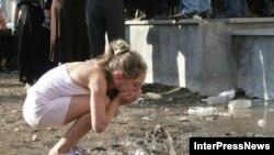 Большинство зданий в Цхинвале разрушено, но жизнь в город возвращается